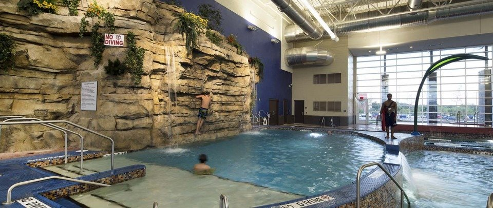 Indoor pool in North Richland Hills TX