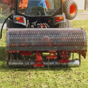 Aeration machine in Fort Worth, Texas