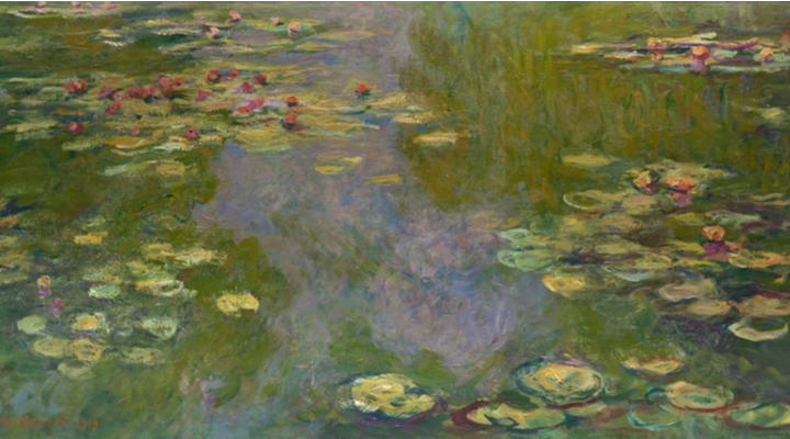 Monet Paintings at the Kimbell Art Museum in Fort Worth